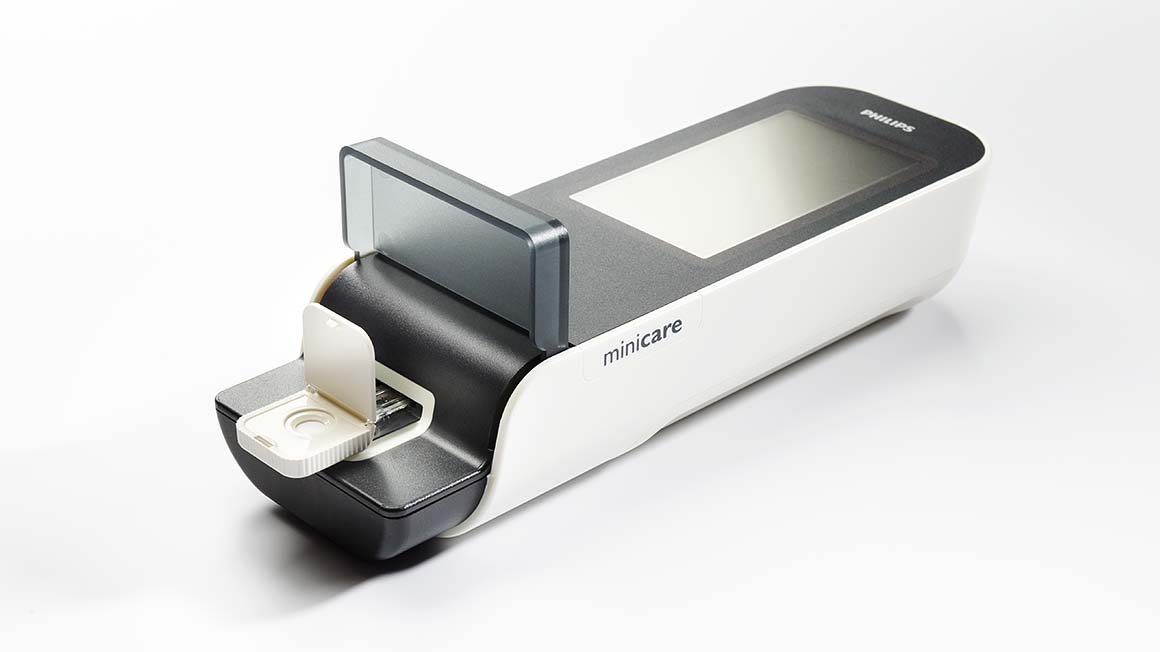 Minicare I 20 analyzer
